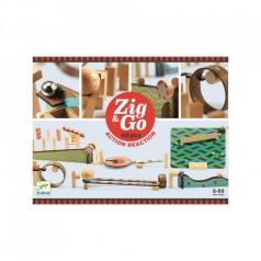 zig & go - domino in legno 48 pezzi