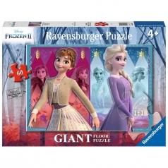 puzzle 60 pezzi - frozen 2 - sorelle devote