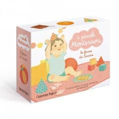le forme da toccare. i piccoli montessori. ediz. illustrata. con 30 carte