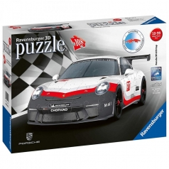 porsche gt3 cup - puzzle 3d 108 pezzi