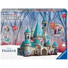 castello di frozen maxi - puzzle 3d 216 pezzi