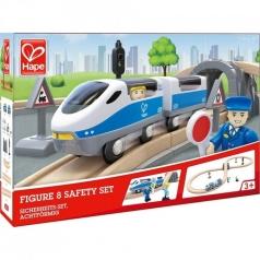 ferrovia con treno 8 passeggeri