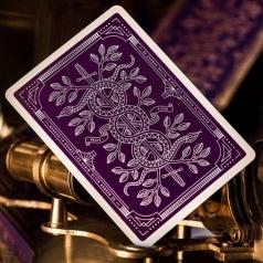 monarchs purple - mazzo poker ramino