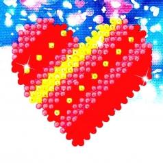 patchwork heart - diamond dotz dds.007