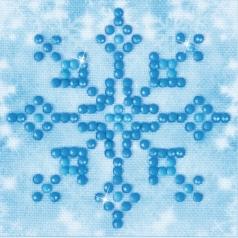 snowflake sparkle - diamond dotz starter dds.017