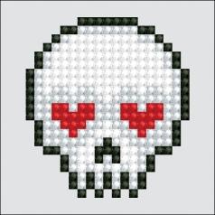 sugar skull - diamond dotz starter dds.020