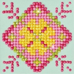 patchwork mandala 1 - diamond dotz starter dds.027