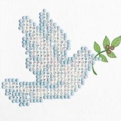dove of peace - diamond dotz beginner dd1.001