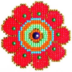 flower power - diamond dotz beginner dd1.008