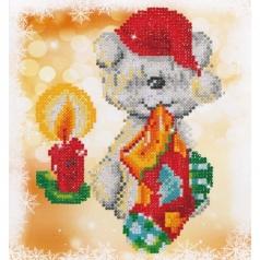 puppy stocking - diamond dotz beginner dd3.016