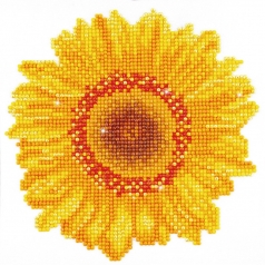 happy day sunflower - diamond dotz beginner dd3.004