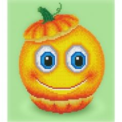 sweet pumpkin - diamond dotz beginner dd3.018