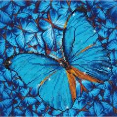 flutter by blue - diamond dotz intermediate dd5.014 30.5x30.5cm