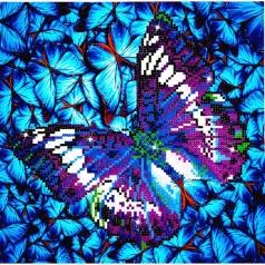 flutter by mauve - diamond dotz intermediate dd5.017 30.5x30.5cm