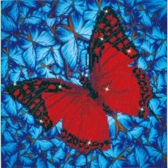 flutter by red - diamond dotz intermediate dd5.020 30.5x30.5cm