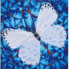 flutter by white - diamond dotz intermediate dd5.021 30.5x30.5cm