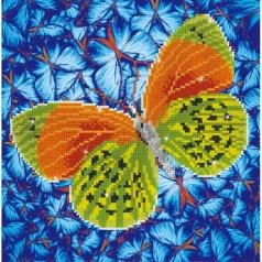 flutter by earth - diamond dotz intermediate dd5.022 30.5x30.5cm