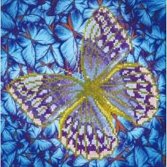 flutter by silver - diamond dotz intermediate dd5.023 30.5x30.5cm