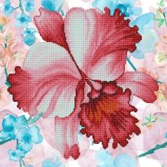 sparkle garden crimson - diamond dotz intermediate dd5.051 30.5x30.5cm