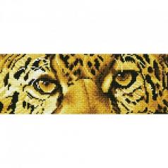 leopard spy - diamond dotz intermediate dd5.028 42x15cm