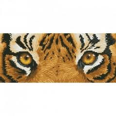 tiger spy - diamond dotz intermediate dd5.041 42x15cm