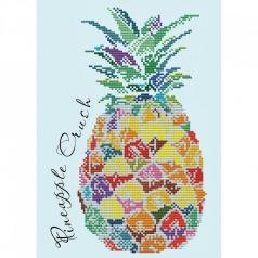 pineapple crush - diamond dotz intermediate dd6.006 28x39cm