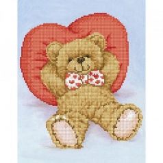 relax-a-bear - diamond dotz intermediate dd6.009 28x36cm