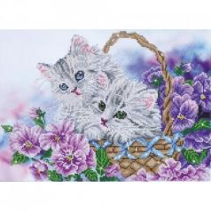kittybasket - diamond dotz intermediate dd10.014 52x42cm