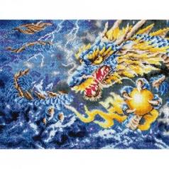 mythical dragon - diamond dotz intermediate dd12.007 68x47cm