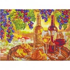 les vins de campagne - diamond dotz advanced dd13.015 70x52cm