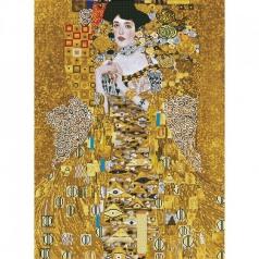 woman in gold klimt - diamond dotz advanced dd15.017 67x91cm