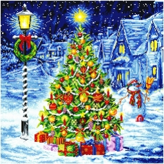 oh christmas tree - diamond dotz advanced dd15.016 67x67cm