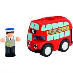 my first wow basil - autobus con personaggio