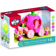 pippa's princess carriage - carrozza con personaggi e animale