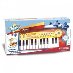 tastiera elettronica a 24 tasti con microfono