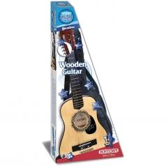 chitarra in legno 75 cm con tracolla e borsa