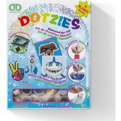 diamond dotz - kit 6 progetti blu