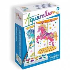 aquarellum cavalli - 2 disegni e 3 colori
