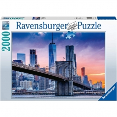da brooklyn a manhattan - puzzle 2000 pezzi