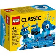 11006 - mattoncini creativi blu