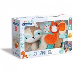 soft spiral happy animals - spirale da passeggino e lettino