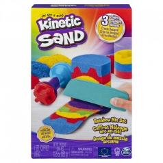 kinetic sand - playset sabbie arcobaleno
