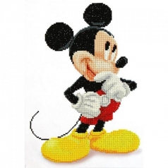 mickey - diamond dotz cd852700105 31x43cm