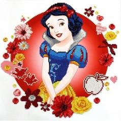 snow white's world - diamond dotz cd851000207 40x40cm