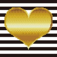 heart - diamond dotz beginner 49293 22x22cm