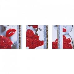 rose romance - diamond dotz advanced dd14.003 142x47cm