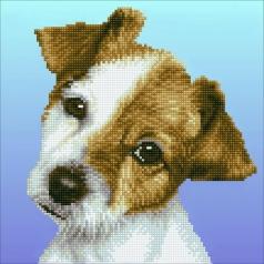 puppy - diamond dotz intermediate 50462 30,48x30,48cm