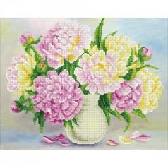 flower bouquet - diamond dotz advanced 49388 47x37cm