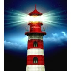 light house - diamond dotz advanced 49941 37x42cm