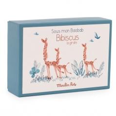 bibiscus la giraffa - scarpine con scatola 0-6 mesi